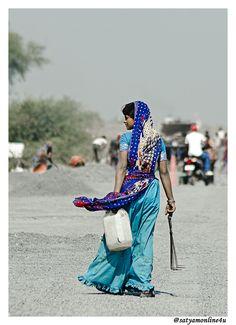 Woman of India (by Satyam Desai)