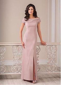 Amazing Chiffon Bateau Neckline Mermaid Mother of the Bride Dresses With Beadings