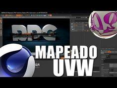 CINEMA 4D | Mapeado UVW | Texturizar Objetos | RPG Lanzacohetes | MOTIONART3D & Ballasvago - YouTube