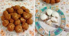 fozes-nelkuli-turogomboc Dog Food Recipes, Cauliflower, Deserts, Muffin, Food And Drink, Vegetables, Breakfast, Ethnic Recipes, Exercises