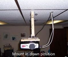 I needed a ceiling mount for my VVME Projector and figured I didn't need to spend money on a professional mount. I wanted something that would be qui...