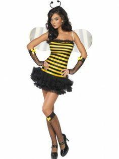 Fever Bij. Met dit prachtige bijen kostuum zoem jij de hele dag vrolijk heen en weer. Leuk voor carnaval.