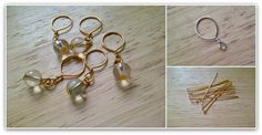 Miss P: DIY: Stitch Markers for Yarn lovers!