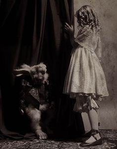 Follow the White Rabbit. #alice #wonderland #lewis #carroll #photography