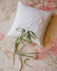 Your soon-to-be-shared initial would look so elegant in white-on-white.