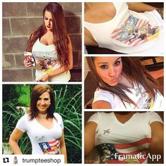 #Repost @trumpteeshop   Just some of the amazing women of social media showing their support for our next President of United States Donald Trump! If youre not already follow them!  @radash007 @miss_aliciastarko @nataliesyl  #trump2016 #trumptrain #trumppence #neverhillary #crookedhillary #maga #killary #basketofdeplorables #veteransfortrump #latinosfortrump #womenfortrump #hottiesfortrump #babesfortrump #2a #gunrights #babeswithguns #nra #DebateNight #Debate2016