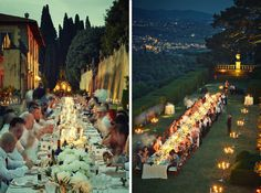 With its rolling hills and medieval villages, the beautiful rustic setting  of Tuscany ranks amongst the world's top dream wedding destinations, so it  was about time we featured one of the many spectacular wedding spaces the  region has to offer.