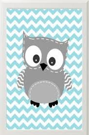 Image result for grey and turquoise nursery ideas with owls