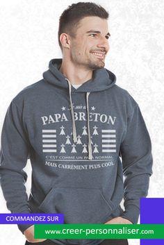 """Tee shirt enfant  """"Je suis un papa breton"""""""