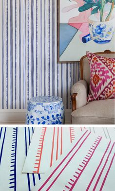 featured on coco+kelley: anna spire wallpaper for porter paints