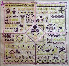 Kissy | Nicki's Kreativseite Cross Stitching, Quilts, Blanket, Tutorials, Pattern, Comforters, Quilt Sets, Kilts, Rug