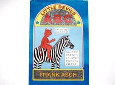 Alphabet Book Little Devils ABC Vintage by lizandjaybooksnmore, $10.00