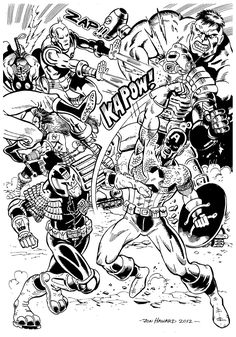 Free Coloring Page Adult Avengers Battle The Face Enemies In This Difficult