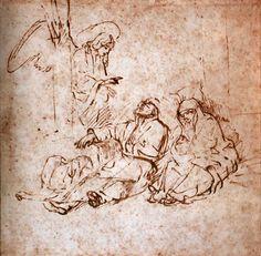L'ange apparaît en songe à Joseph