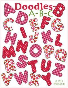 Doodles-ABC  Machine Embroidery Der Stickbär 9,00€