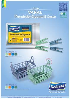 Prendedor Gigante & Cesto