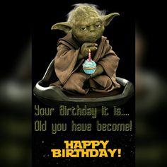 Képtalálatok a következőre: happy birthday middle age star wars