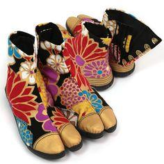 Japanese foowear, Tabi shoes by SOU・SOU