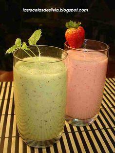 ccfaabae2533c Las recetas de Silvia  Que es un smoothie Licuados De Frutas