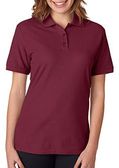 Jerzees Women's Moisture Management Pique Polo Shirt ** Be sure to check out this awesome item.