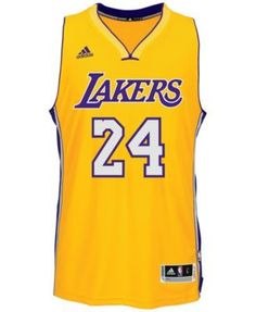 4919204d3680 adidas Men s Kobe Bryant Los Angeles Lakers Swingman Jersey - Gold XXL Kobe  Bryant 24