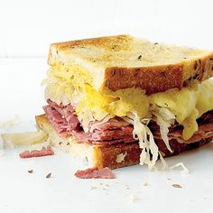 Reuben. Make this fuss-free version of the deli favorite easily at home.