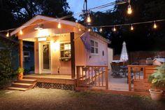 Cutest getaway cabana/cottage! (Key West Cabana at sunset.)