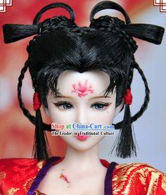 Ancient Chinese Female Hair Accessories and WigSan Bernardino