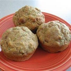 Zucchini-Chocolate Chip Muffins Recipe - Allrecipes.com