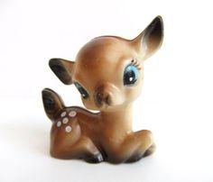 Plastic Deer Figurine