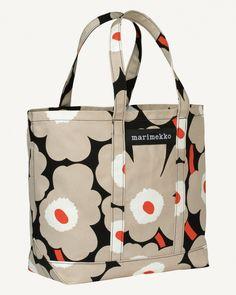 Kassit - Laukut - Marimekko.com Marimekko Fabric, Painted Bags, Reusable Bags, Fashion Bags, Fashion Trends, Home Textile, Cubs, Diaper Bag, Wallet