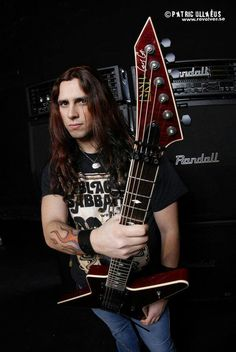 Gus G Gus G, Esp Guitars, Zakk Wylde, Custom Guitars, Black Sabbath, Metalhead, Metal Bands, Music Is Life, Rock N Roll