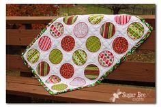 Sugar Bee Crafts: Christmas Circle Quilt