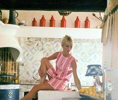 Brigitte at La Madrague, 1965