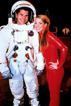 Britney on the set of the Oops...I Did It Again video shoot.