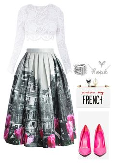 Pardon My French #297 by ambere3love34 on Polyvore featuring Stone_Cold_Fox, Chicwish, Privileged, Cecilia Ma and Michael Kors