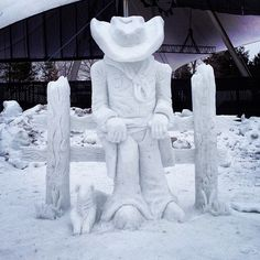robot blood  snow  silverskatefestival  yegarts  cowboy  alberta 64dd3a5d18a1