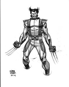 Wolverine by Andrew Robinson *