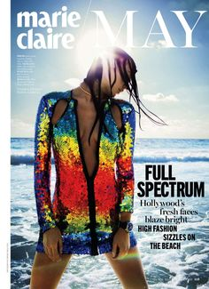 visual optimism; fashion editorials, shows, campaigns & more!: heat rising: katja krivorota by enrique badulescu for marie claire may 2014