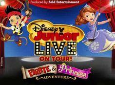 contest, Palace of Auburn Hills, Disney Jr Live