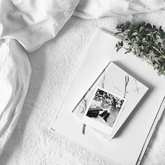"""""""Today is the tomorrow we worried about yesterday."""" Ann Brashares Happy Monday everyone! #whywhiteworks #onthebed"""