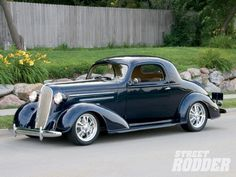 """specialcar: """" 1936 Chevy Master Deluxe Sport Coupe - Street Rod. """""""
