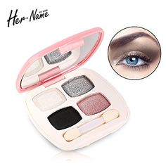 4 colours Make up eyeshadow colourpop naked brand makeup kit eye shadow palette cosmetic blush professional eye shadow glitter ** Want to know more, click on the image.