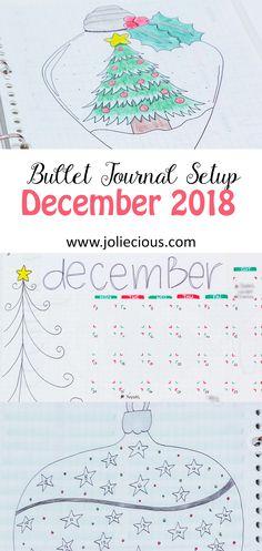 Festive Christmas theme for December bullet journal setup Creating A Bullet Journal, Bullet Journal Set Up, Bullet Journal Printables, Bullet Journal How To Start A, Bullet Journal Layout, Bullet Journal Inspiration, Bullet Journals, December Bullet Journal, Goal Journal