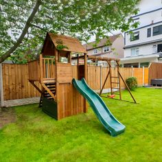 BalconyFort Searcher - Monkey Bars Included. Garden Climbing Frames, Wooden Climbing Frame, Garden Buildings, Heart For Kids, Outdoor Play, Play Houses, Cabin, Monkey, Outdoor Games