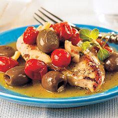 Easy Greek Chicken Recipes  | Greek Isle Chicken | MyRecipes.com