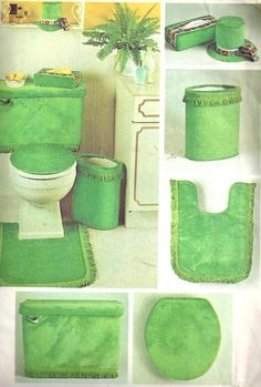 1970s bathroom carpet bathroom set pattern 1970s decorator toilet tank by selmalee - Bathroom Carpet