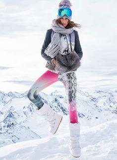 e914d836d0 Fleecejacke Harrod Unterzieher Highlight Leggings Licking Skimütze Baden WB Apres  Ski Party