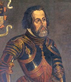 On March the Spanish conquistador Hernán Cortés arrived in Mexico. with the intention of exploring and securing the land for colonisation. In 2 years his tiny army overthrew the Aztec Empire paved the way for Spanish colonisation of Mexico. Today In History, Texas History, World History, Family History, Aztec Empire, Inca Empire, Conquistador, Adele, Spain