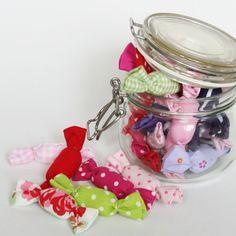 Stoff-Bonbons für den Kaufmannsladen